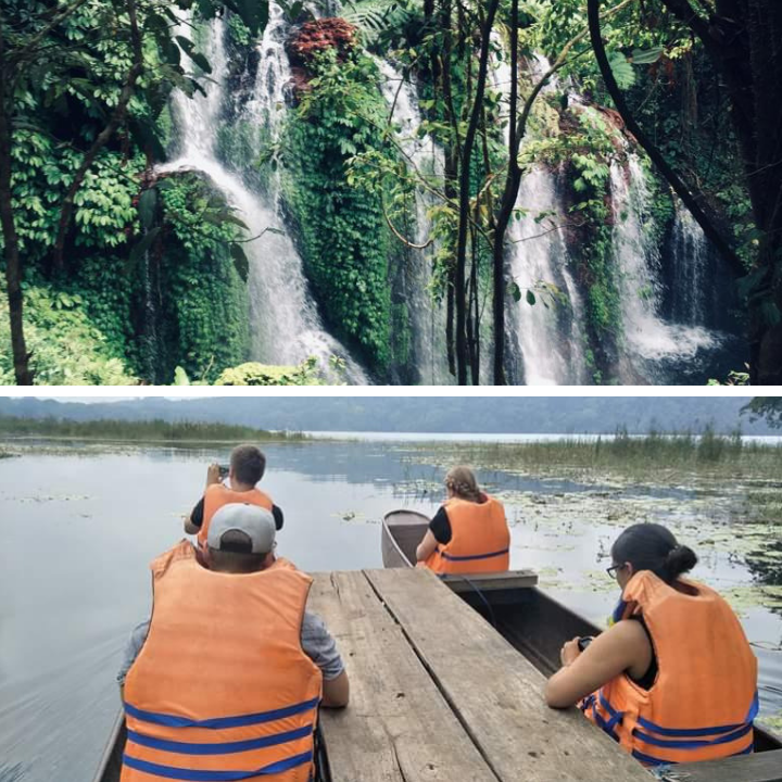 Jungle Trekking Canoening and Waterfall