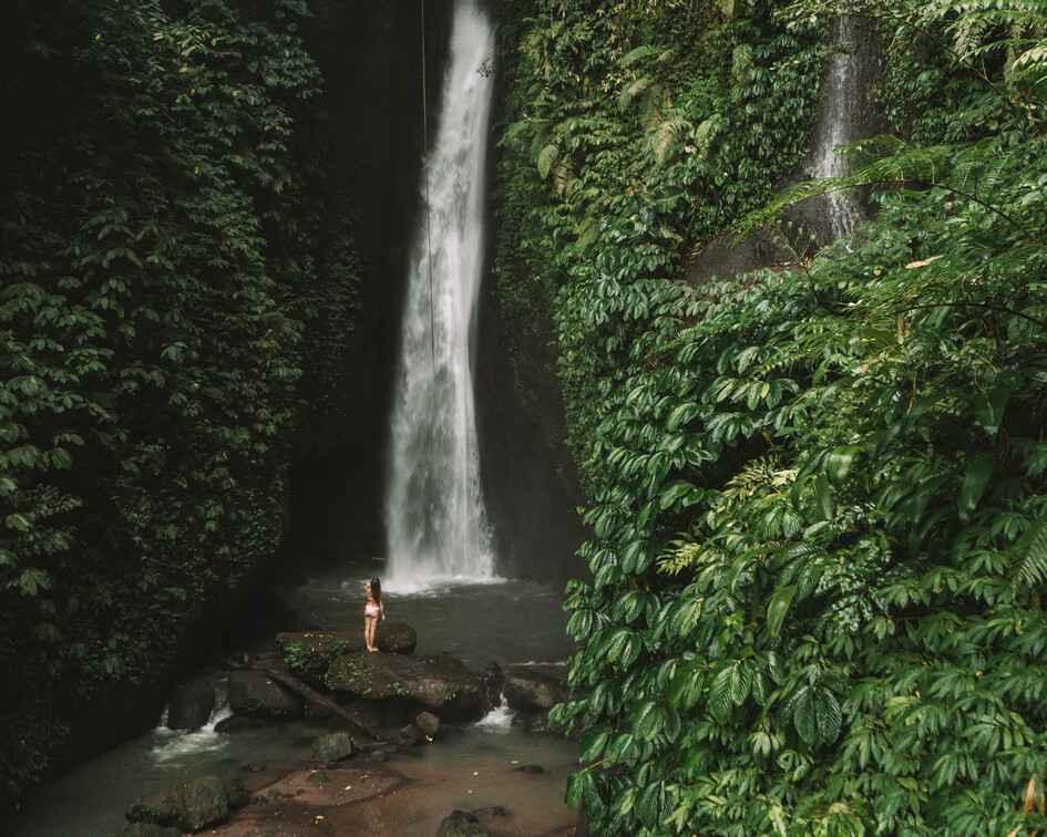 Leke leke waterfall Tours