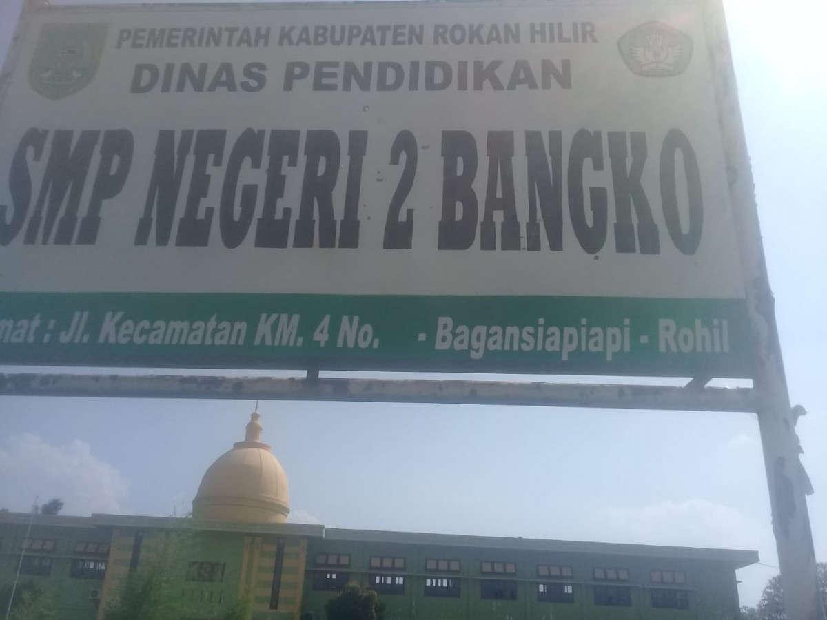 Kurangnya Toleransi ke Murid Miskin Di SMPN 2 Bangko,Bagan Siapi Api