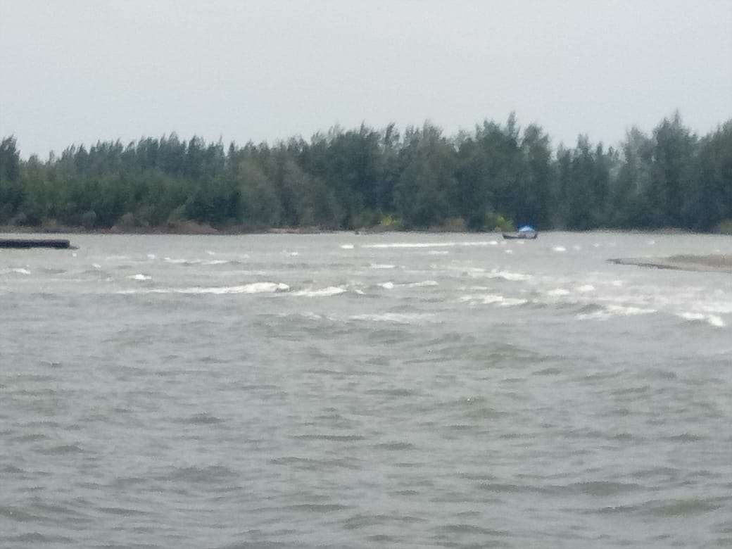 Dermaga Tradisional Kuala Pulo Sarok  terkendala Sungai Dangkal