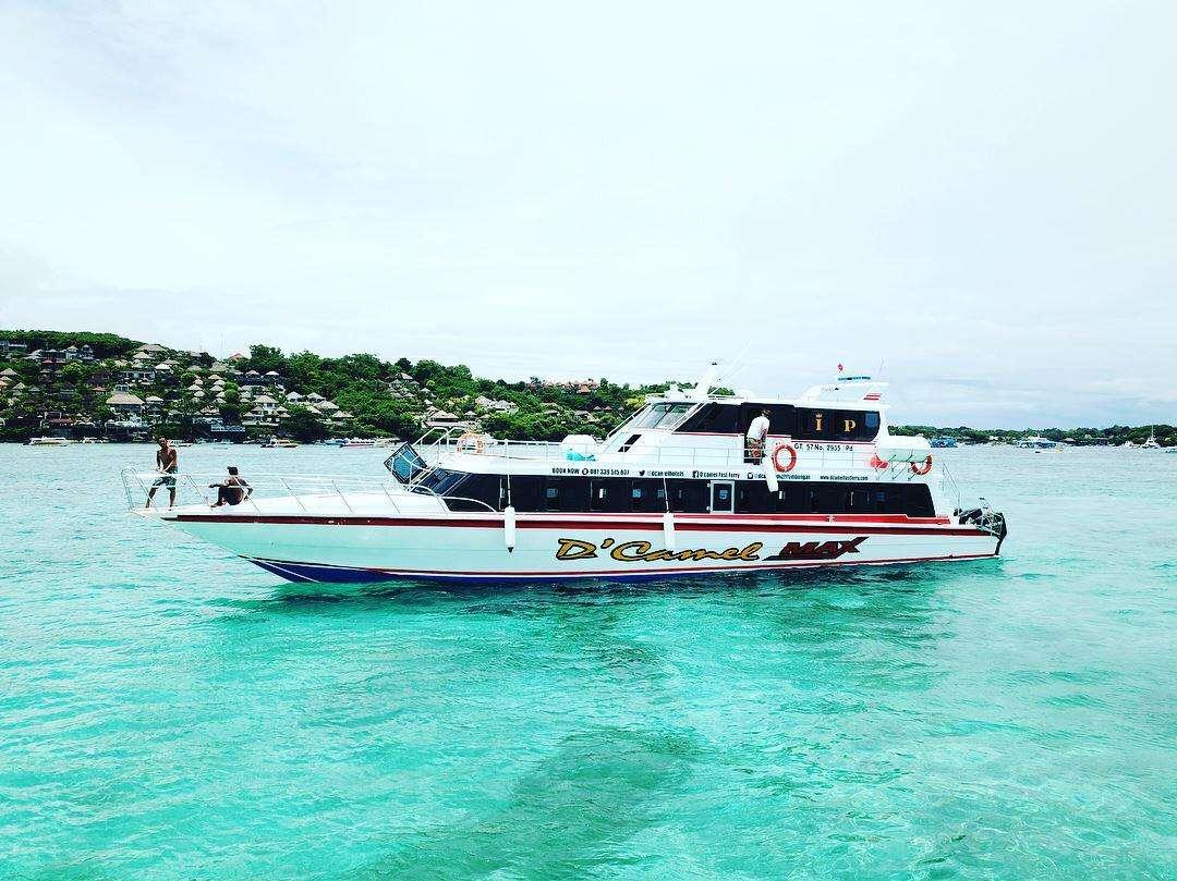 Fastboat to Lembongan