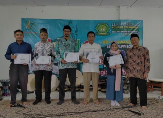 Isi Milad dan Haul Ke 27 Ponpes Al-Muhajirin Gelar Lomba Bahasa Dan Marawis Se-Purwasuka