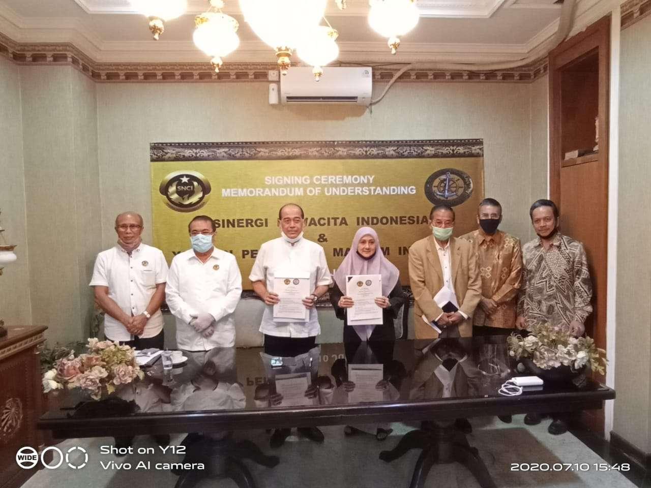 SNCI Digandeng YMPI Untuk MOU Di Bidang Pendidikan Kemaritiman