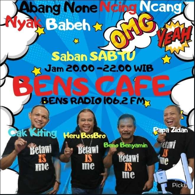 """Drakom """"Bens Cafe"""" Di Bens Radio 106.2 FM Makin Digemari, Ini Rahasianya..."""
