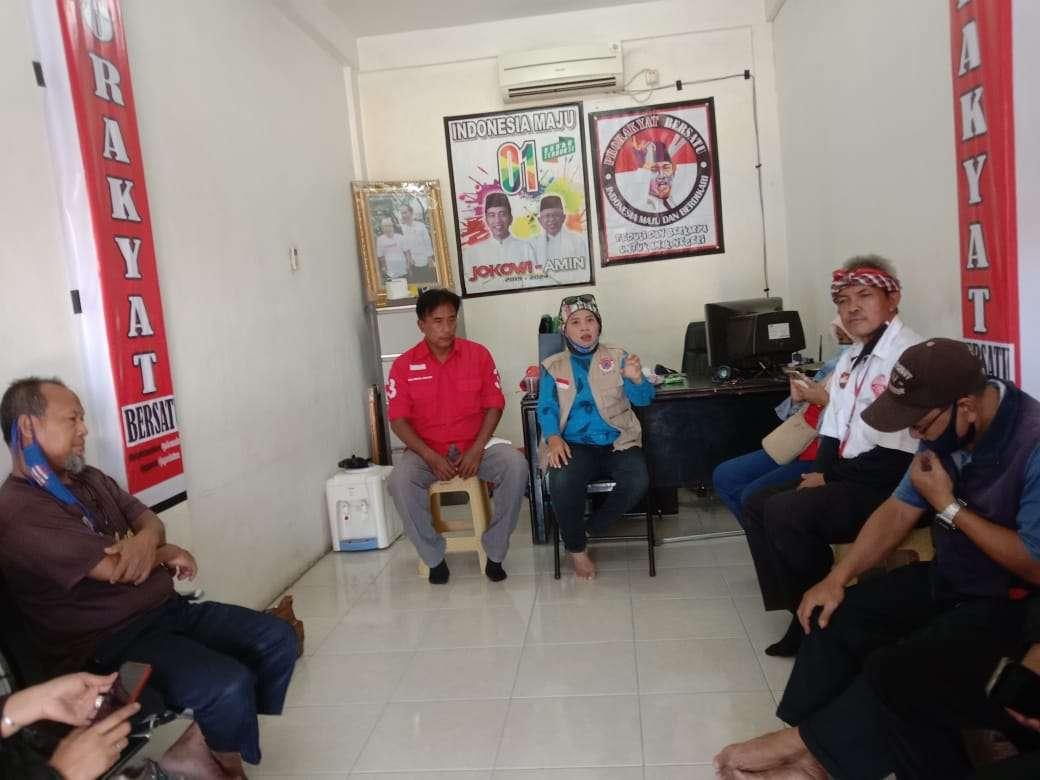 Launching Kantor Sekretariat Pro Rakyat Bersatu Diisi Pembagian Masker