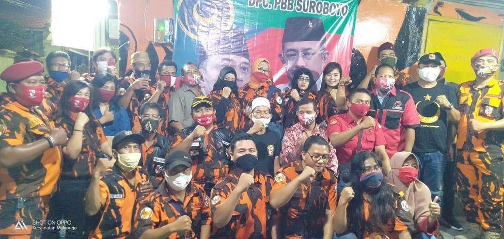 PDIP, PBB dan Pemuda Pancasila Surabaya Konsolidasi Bersama Untuk Menangkan Eri - Armuji