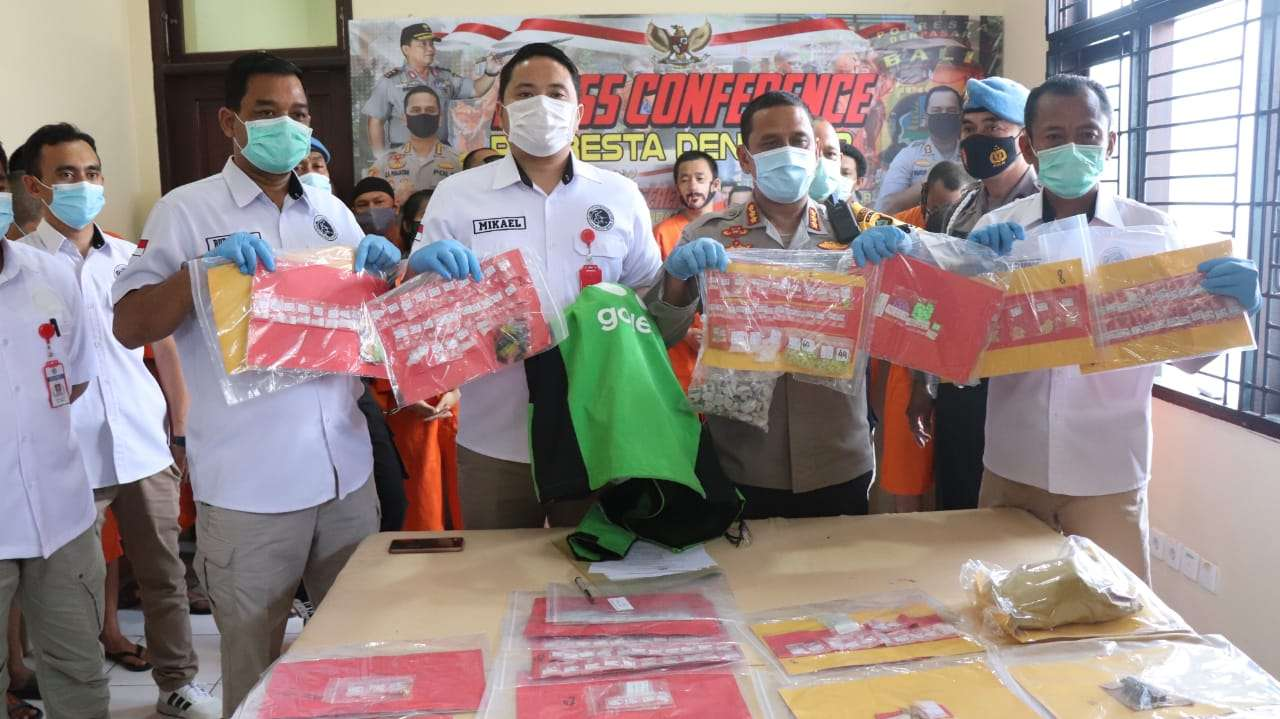 Polresta Denpasar Amankan 37 Pelaku Narkoba Dalam Sebulan