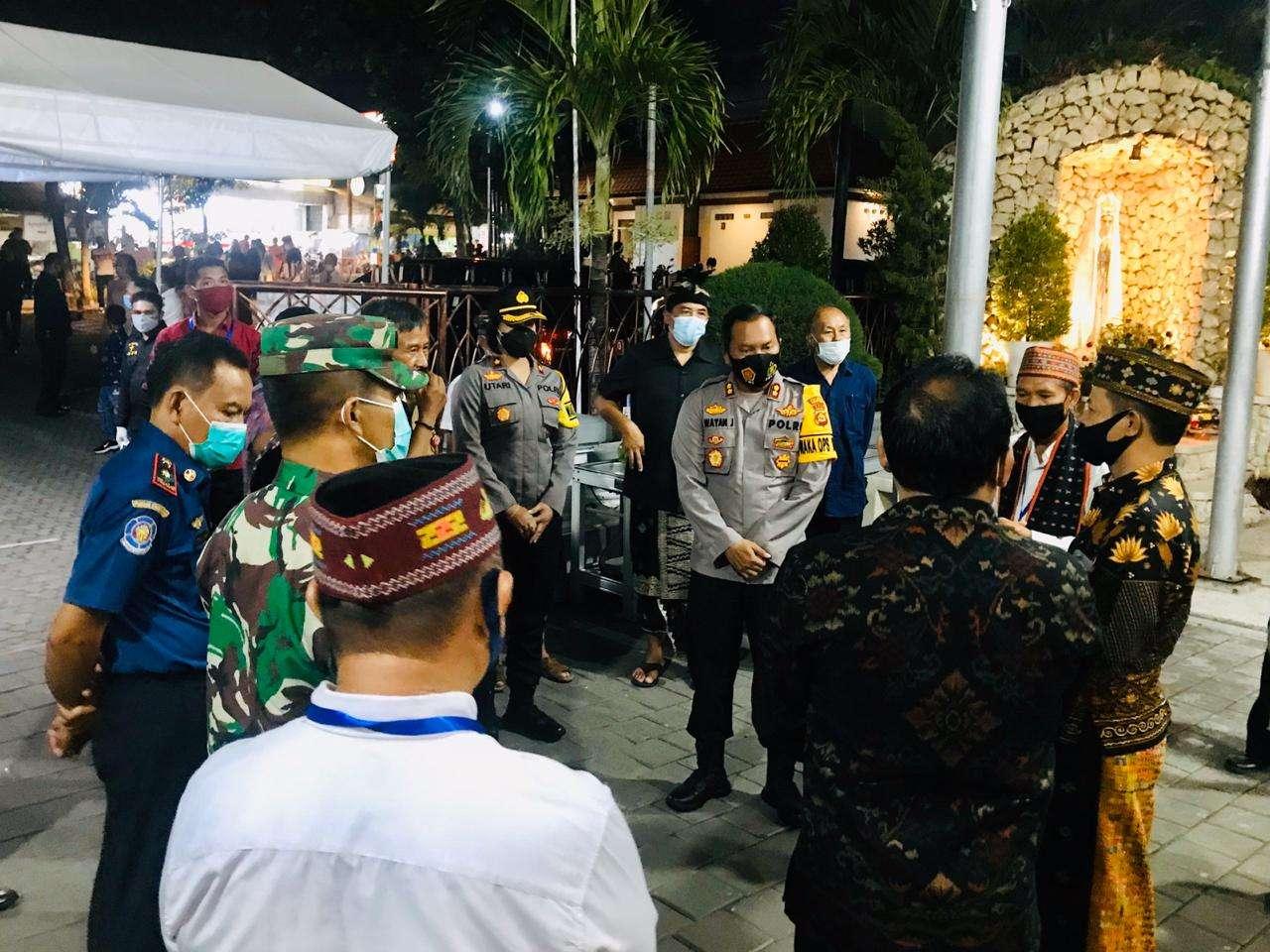 Wujudkan Badung Santhi Dan Jagadhita, Wakapolres Putu Utari Laksanakan Patroli Gabungan