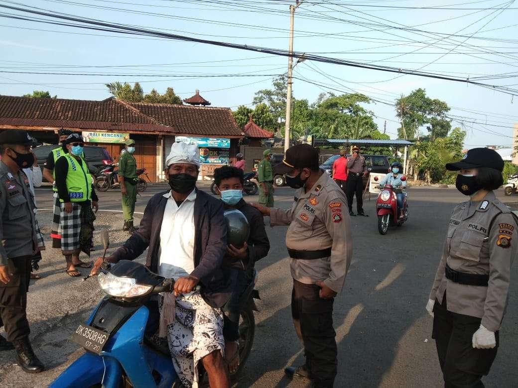 Polres Badung Gelar Aksi Gerebek Desa