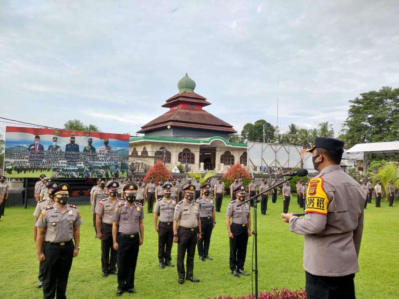 89 Personel Polres Bangli, Resmi Sandang Pangkat Baru Hari ini