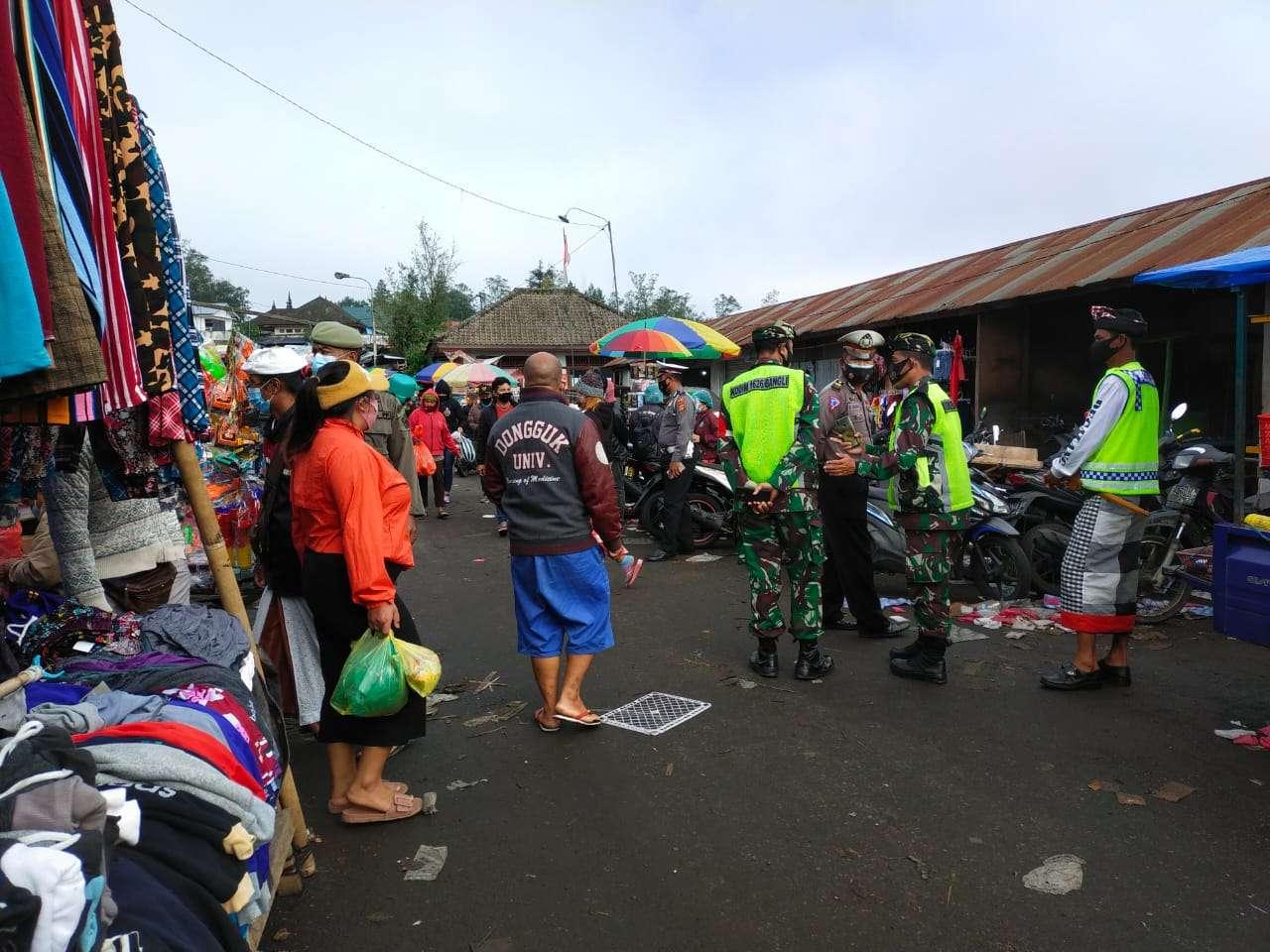 Tim Yustisi Sasar, Pasar Tradisional Kintamani Temukan 12 Pelanggar